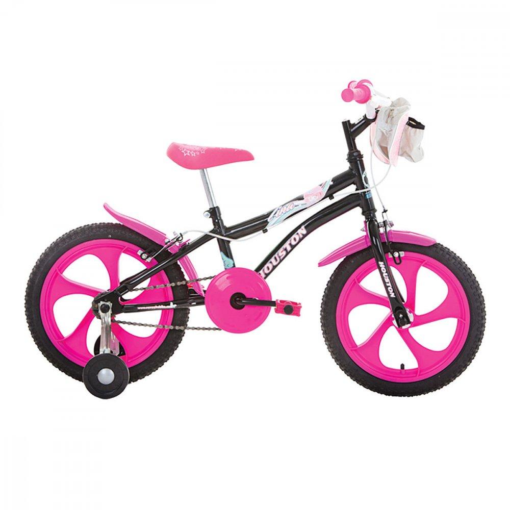 Bicicleta Infantil Aro 16 TN162Q Preta unidade Houston  UN