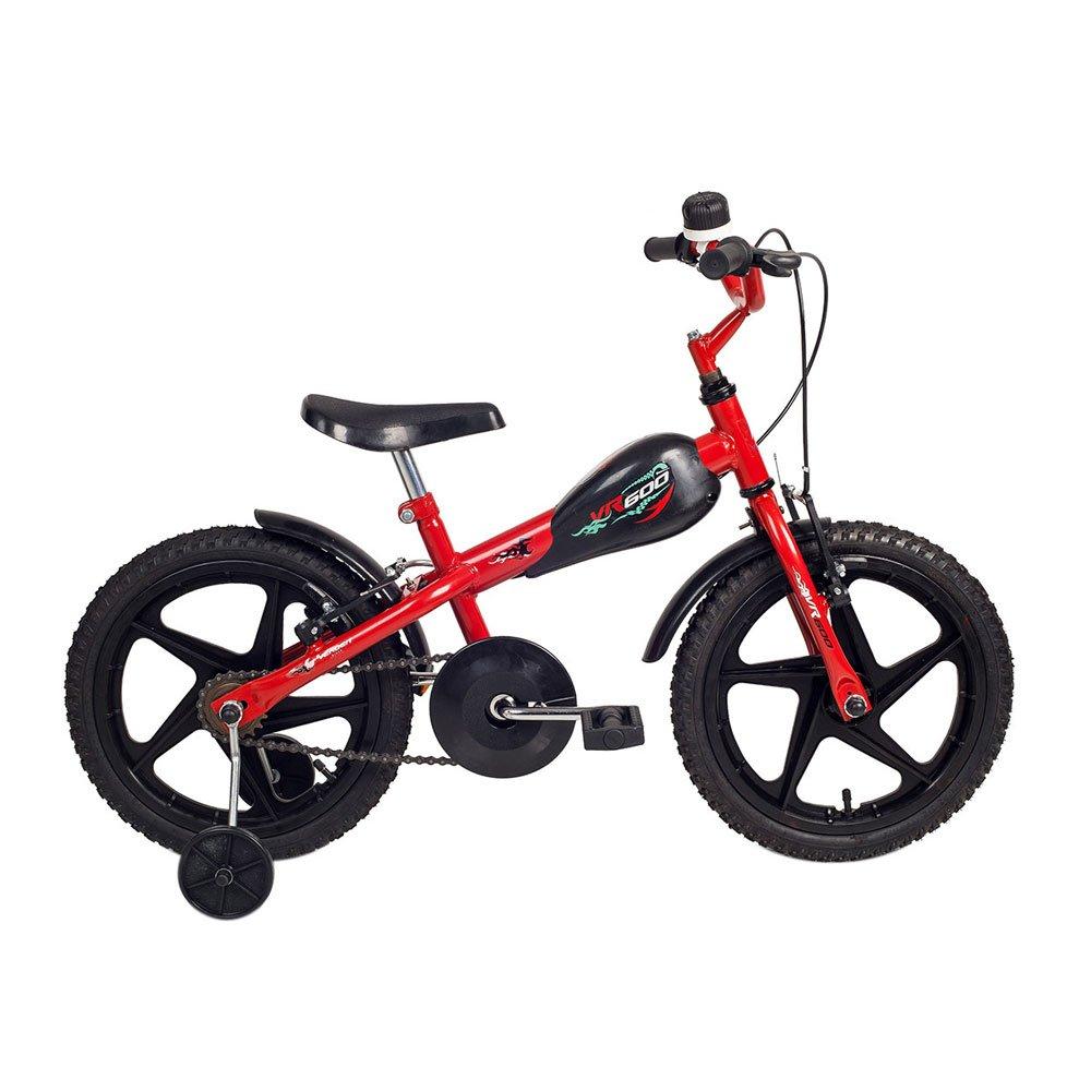 Bicicleta Infantil Aro 16 VR 600 Vermelha e Preta unidade Verden  UN