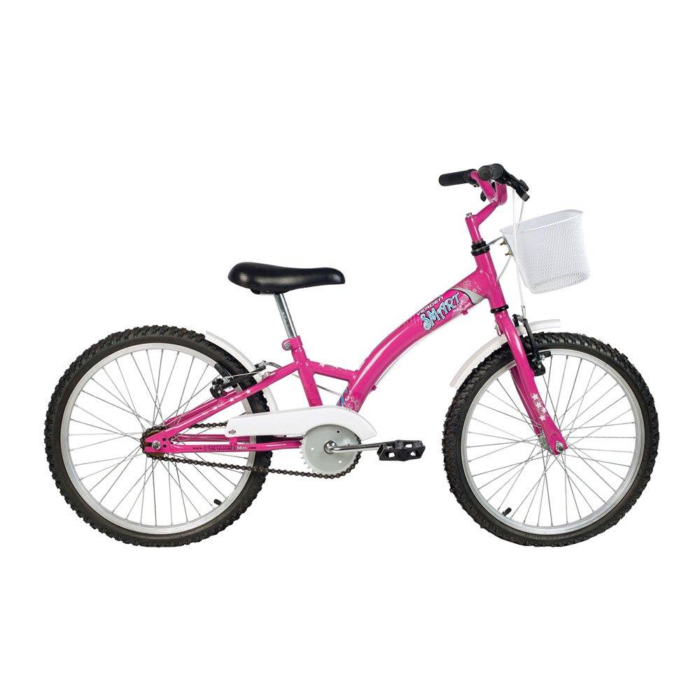 Bicicleta Infantil Aro 20 Smart Rosa unidade Verden  UN