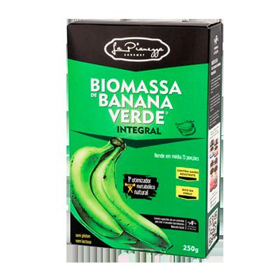 Biomassa de banana verde integral 250g La Pianezza caixa UN