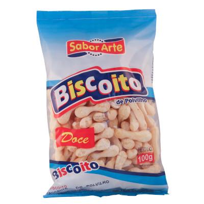 Biscoito de polvilho doce palito 100g SaborArte pacote UN