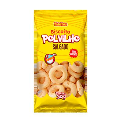 Biscoito de polvilho  50g Fabitos pacote PCT