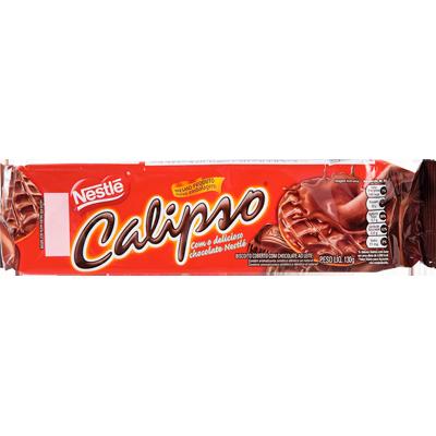 Biscoito doce chocolate 130g Calipso pacote PCT