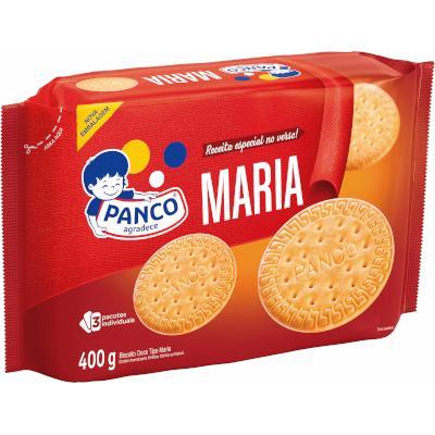 Biscoito doce maria 400g Panco pacote PCT