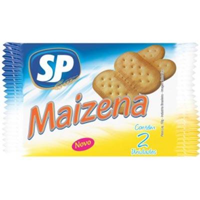 Biscoito doce sabor maizena unidades de 5 a 9g SP em sachês UN