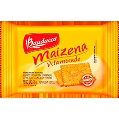 Biscoito Doce sabor maizena unidades de 8/9g Bauducco em sachês UN