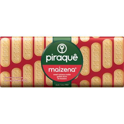 Biscoito doce sabor maizena 200g Piraquê pacote PCT