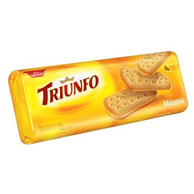 Biscoito doce sabor maizena 200g Triunfo pacote PCT