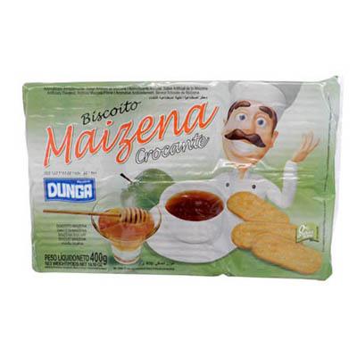 Biscoito doce sabor maizena 400g Dunga pacote PCT