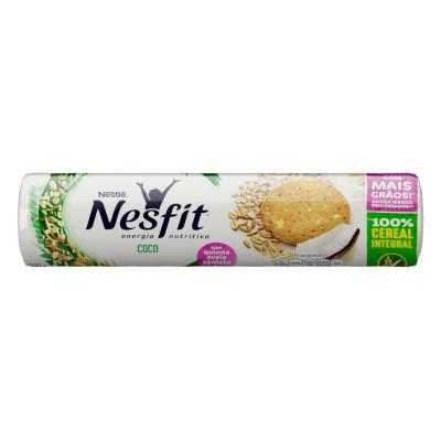Biscoito integral sabor coco 200g Nesfit pacote PCT