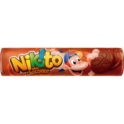 Biscoito Recheado  sabor Chocolate  135g  Zabet/Nikito pacote PCT
