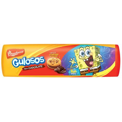 Biscoito Recheado sabor Chocolate 140g Gulosos pacote PCT