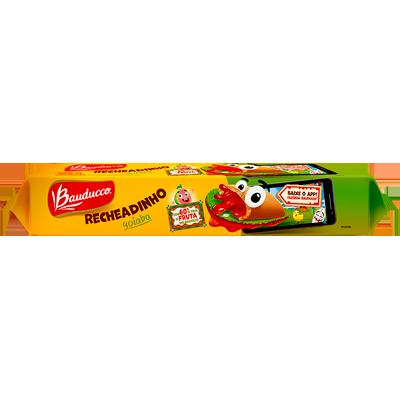 Biscoito recheado sabor goiaba 104g Bauducco pacote PCT