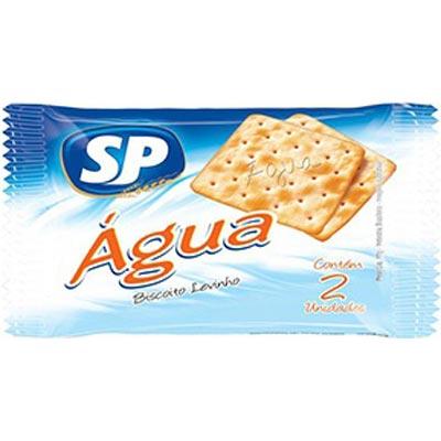 Biscoito Salgado Água unidades de 5 a 9g SP em sachês UN