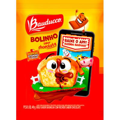 Bolinho sabor baunilha/chocolate 40g Bauducco  UN