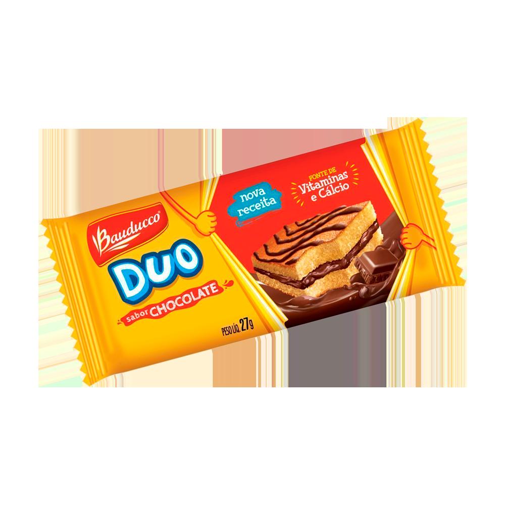 Bolinho sabor chocolate 27g Bauducco/Duo  UN