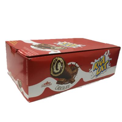 Bolinho sabor chocolate 15 unidades Kidlat/Parmalat caixa CX