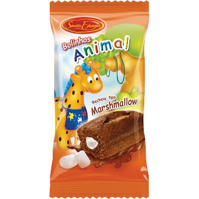 Bolinho sabor chocolate e marshmallow 40g Santa Edwiges pacote UN