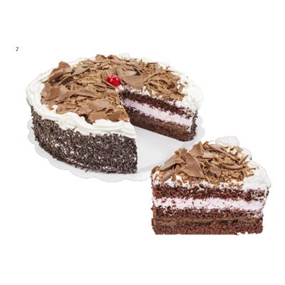 Bolo recheado sabor floresta negra 16 fatias 2kg Empório das tortas  UN