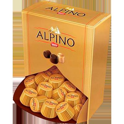 Bombom chocolate 35 unidades Nestlé/Alpino caixa UN