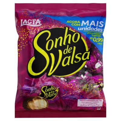 Bombom chocolate 1kg Sonho de Valsa pacote PCT