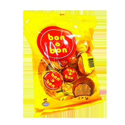 Bombom chocolate 50 unidades Arcor Bonobon pacote PCT