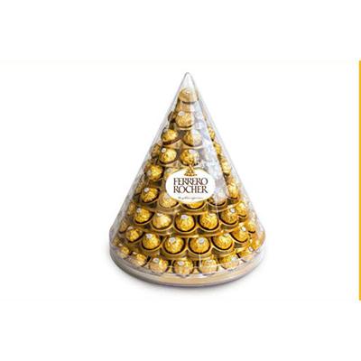 Bombom chocolate 96 unidades Ferrero Rocher pirâmide PCT