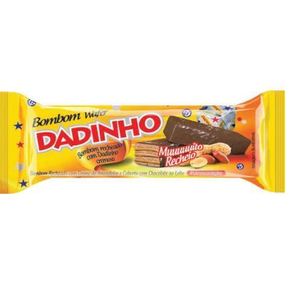 Bombom sabor Dadinho e Chocolate 126g Dadinho pacote PCT