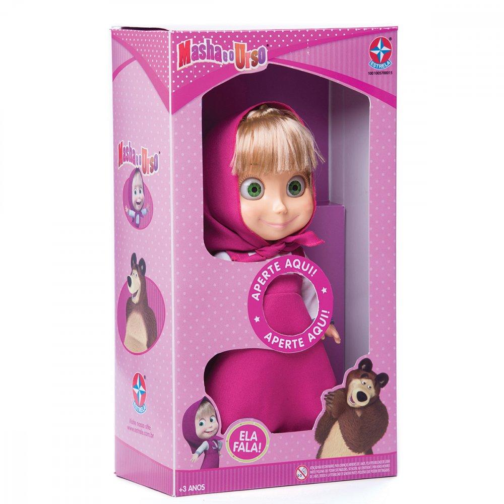 Boneca Masha 35cm Rosa unidade Estrela  UN