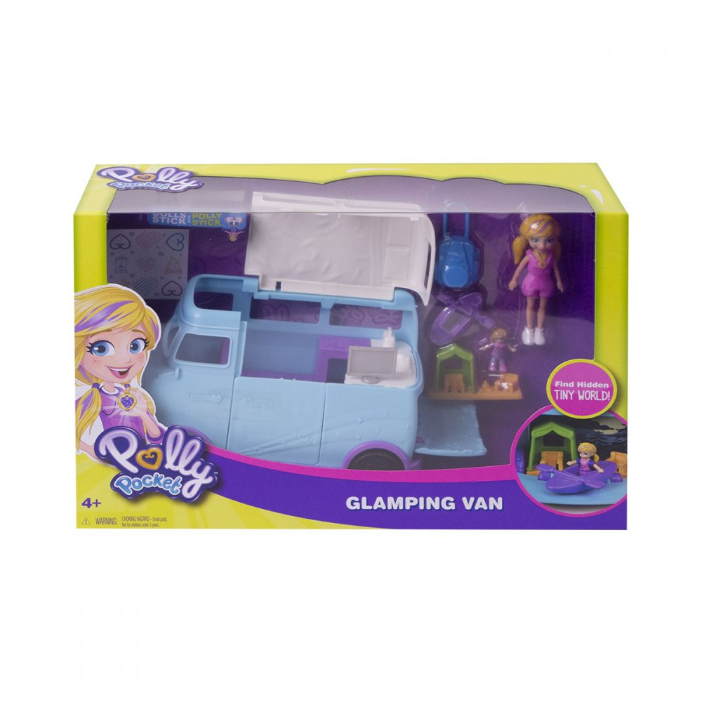 Boneca Polly Glamorosa Van de Campismo unidade Mattel  UN