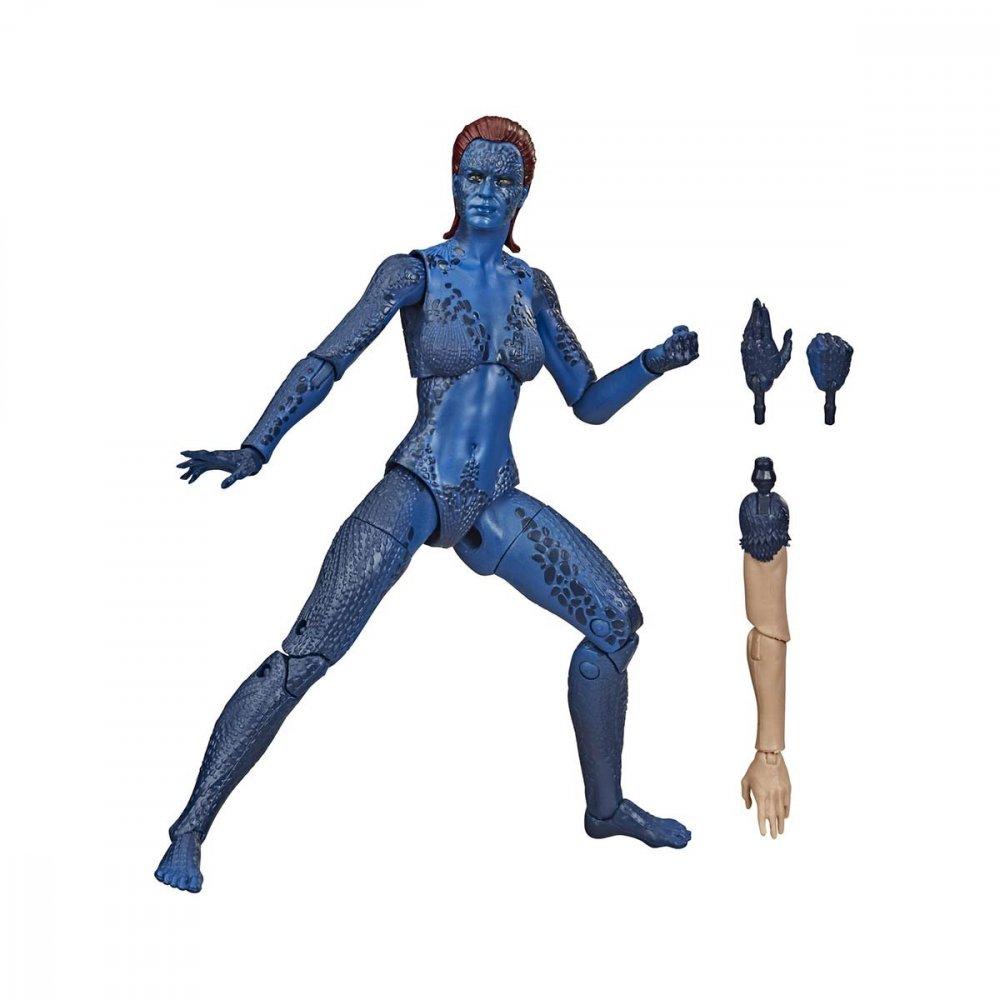Boneco da Marvel Legends Series X-Men Mystique unidade Hasbro  UN
