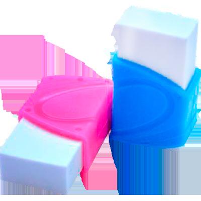 Borracha plástica branca com capa unidade Kaz  UN