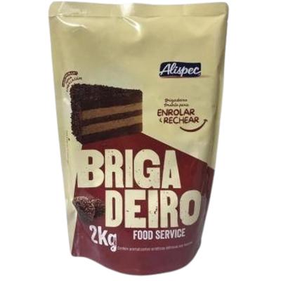 Brigadeiro pronto 2kg Alispec pacote PCT