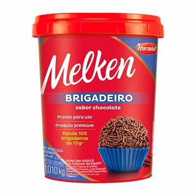 Brigadeiro Pronto para Consumo 1kg Harald/Melken pote POTE