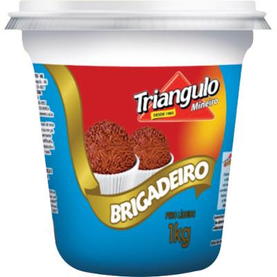 Brigadeiro pronto 1kg Triângulo Mineiro pote POTE