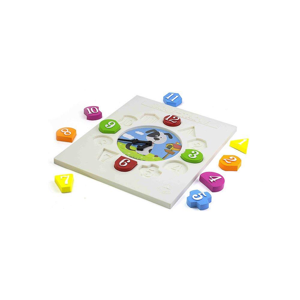 Brinquedo de Encaixe Relógio Tique Taque Cachorrinho Colorido unidade Estrela  UN