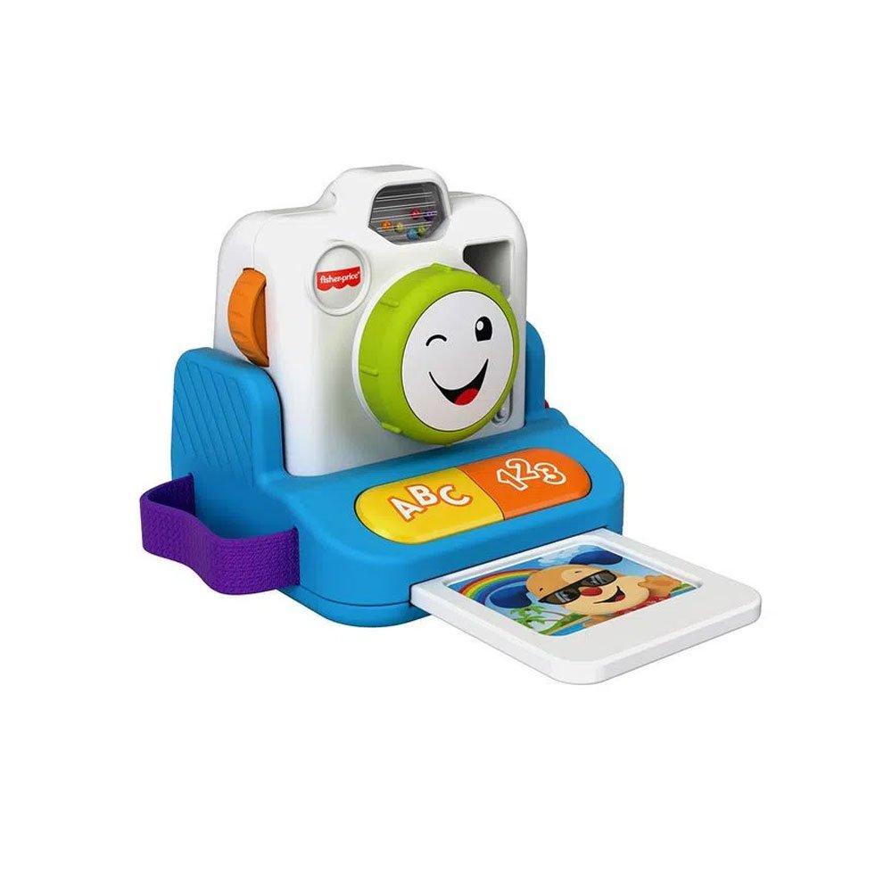 Brinquedo para Bebê Aprender e Brincar Câmera Sorriso e Aprendizagem Azul unidade Fisher-Price  UN