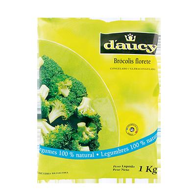Brócolis congelado por Kg Daucy pacote KG