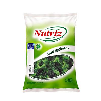 Brócolis congelado por kg Nutriz pacote KG