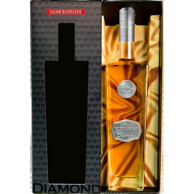 Cachaça Diamond 700ml Velho Barreiro garrafa UN
