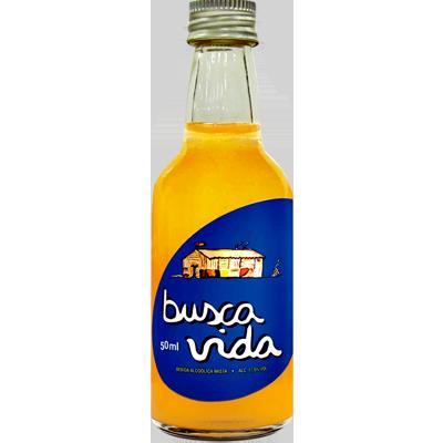 Cachaça  50ml Busca Vida garrafa UN
