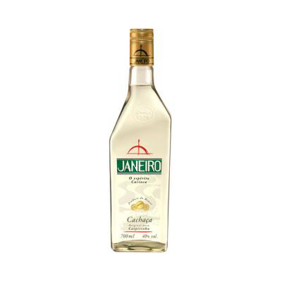 Cachaça  700ml Janeiro garrafa UN