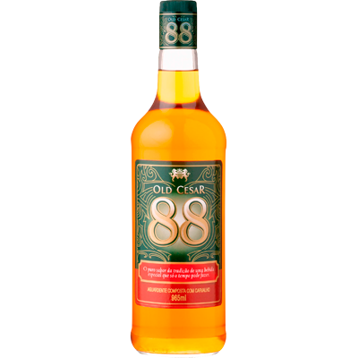 Cachaça Old Cesar 965ml 88 garrafa UN