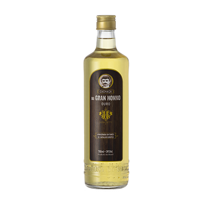 Cachaça Ouro 700ml Gran Nonno/Benedetti garrafa UN