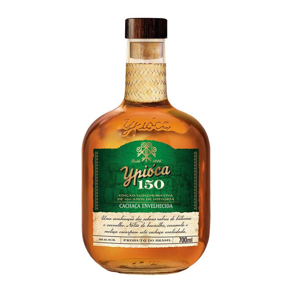 Cachaça Premium 150 anos 700ml Ypioca garrafa UN