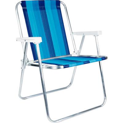 Cadeira de Praia em Alumínio Alta unidade Mor  UN