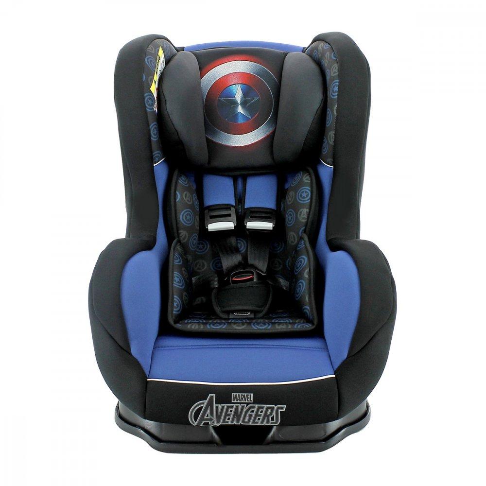 Cadeirinha para Auto Primo 409004 Capitão América Suporta até 25Kg Azul unidade Marvel  UN