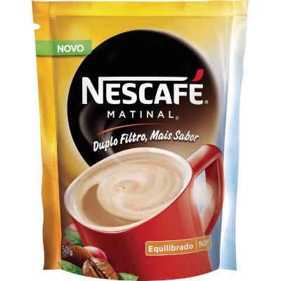 Café solúvel matinal 50g Nescafé/Matinal pacote PCT