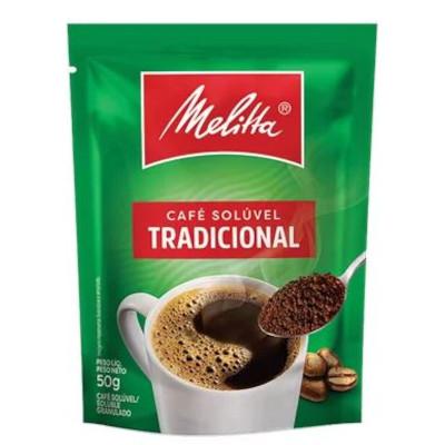 Café solúvel tradicional 50g Melitta pacote PCT