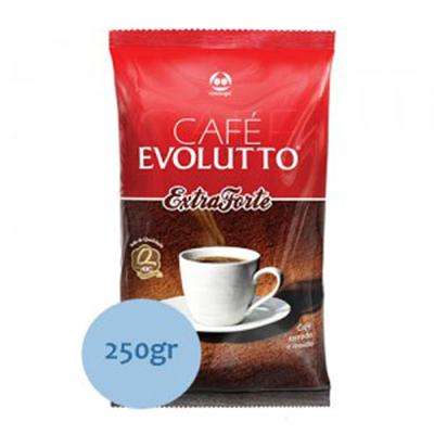 Café torrado e moído extra forte (em pó) 250g Evolutto almofada UN